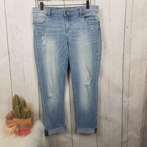 Kut from the Kloth boyfriend distressed jeans 8